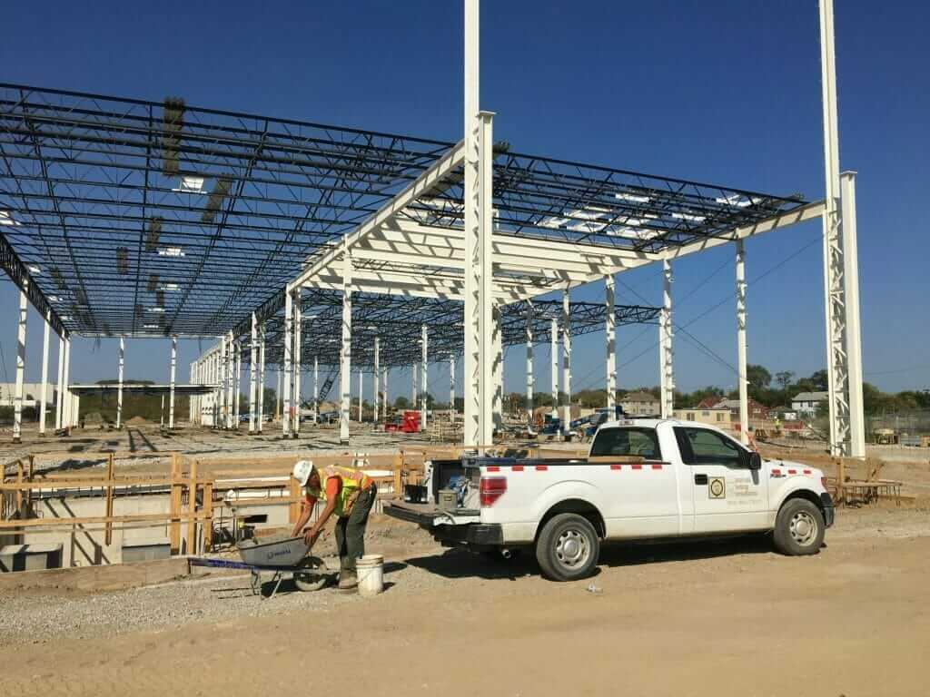 Flex-N-Gate facility under construction