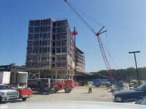 Mercy Health - Muskegon building, an MTC construction materials testing, geotechnical engineering, and structural steel inspections project