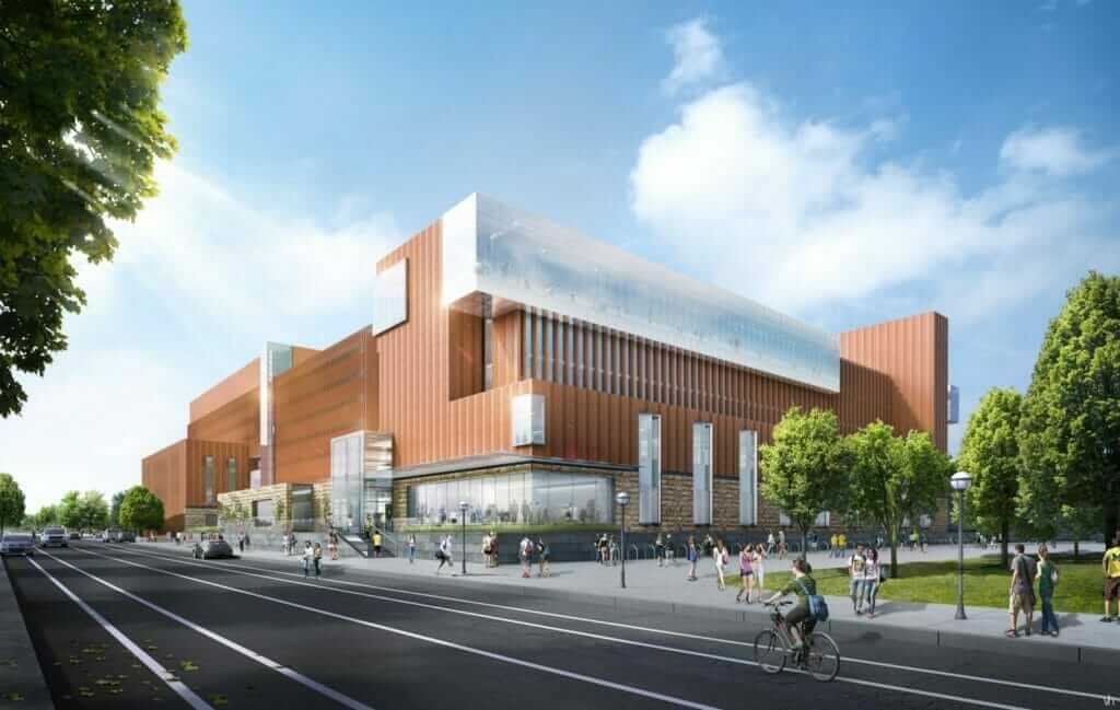University of Michigan Ross School of Business proposed exterior
